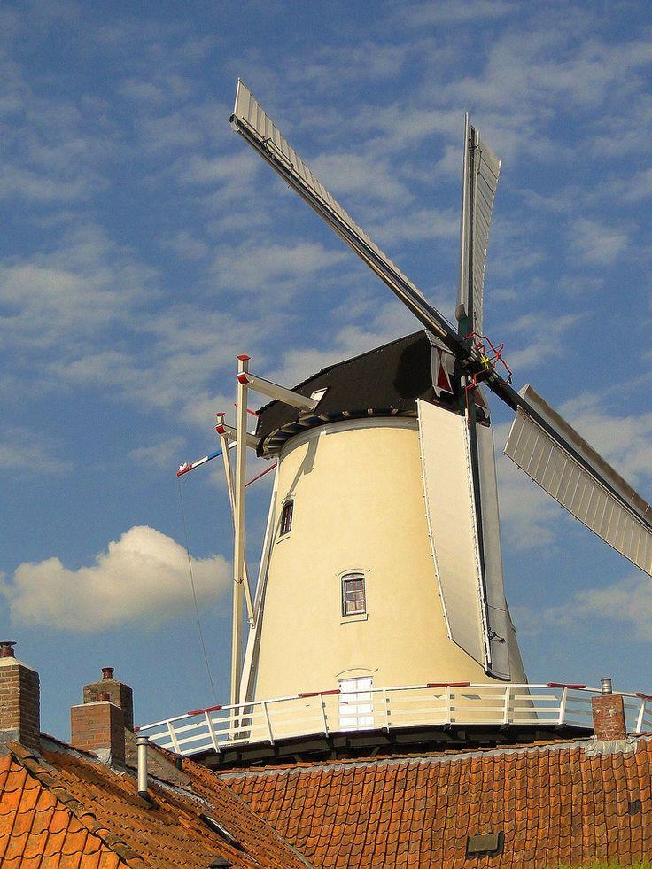 Molen ''de Hoop'', Haren, Groningen, The Netherlands