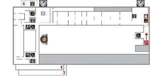 Musée d'Orsay: Plan du musée. Paris