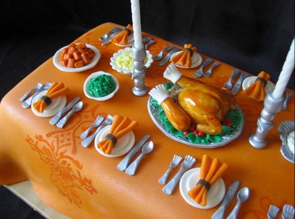 24 Appetizing Thanksgiving Cakes