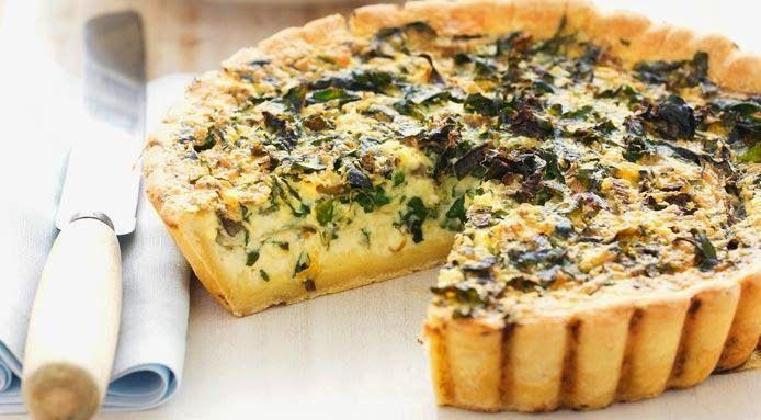 Varomeando: Quiche de queso con espinacas
