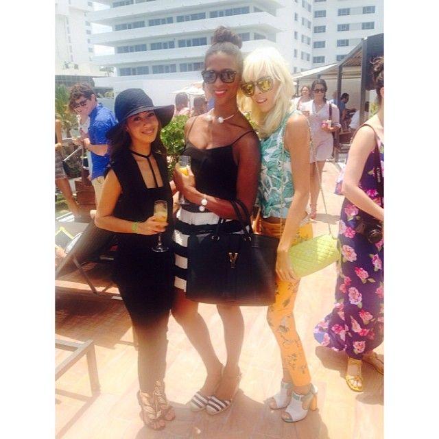 Fashion Bloggers #MIAFW14 @alamodemaya @Marivette @Adriana Kubieniec Lovely Imperfect Miami Fashion Week
