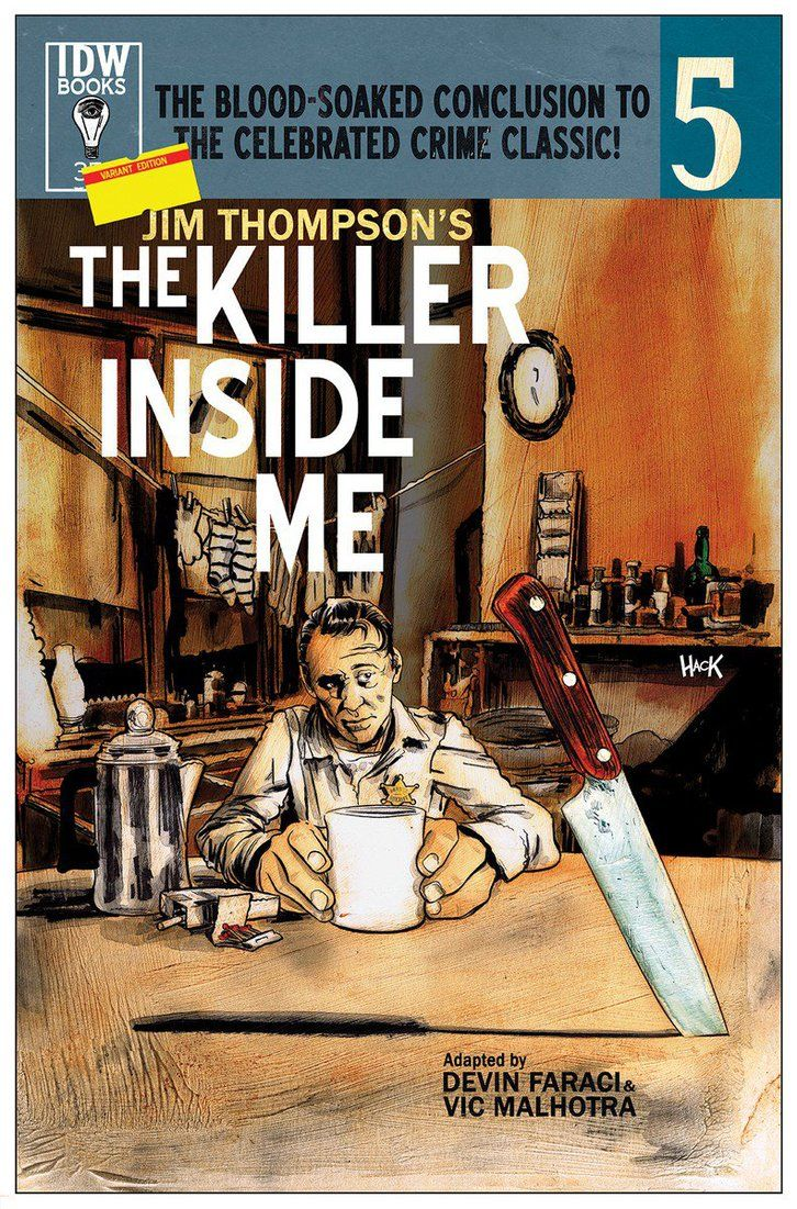 The Killer Inside Me #5 Variant Cover by RobertHack.deviantart.com on @DeviantArt