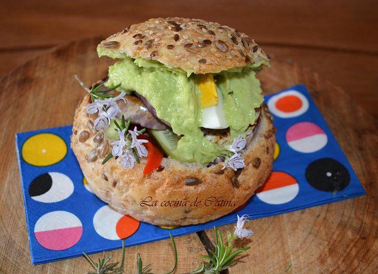 La cocina de Catina: Bocadillo vegetariano