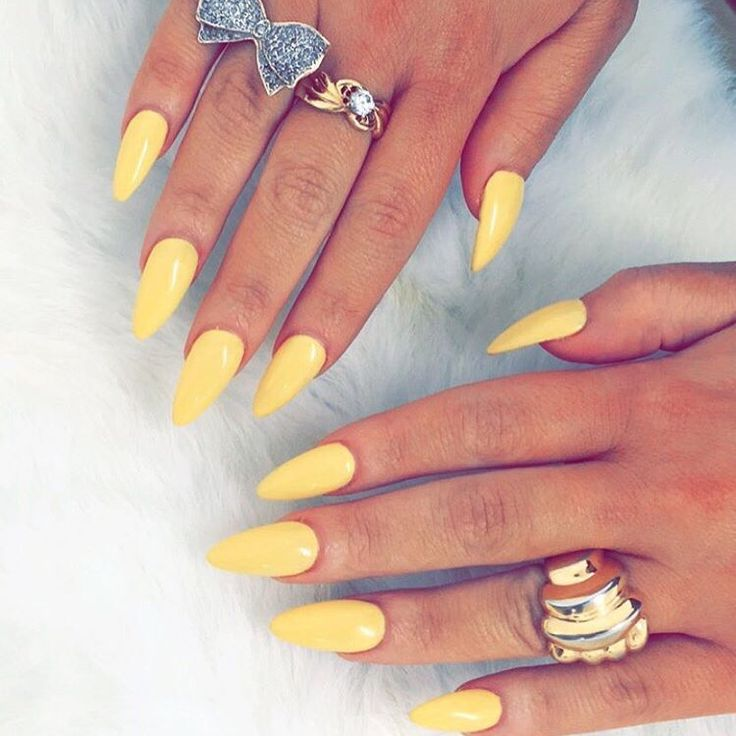 72 Best Yellow Nails Images On Pinterest