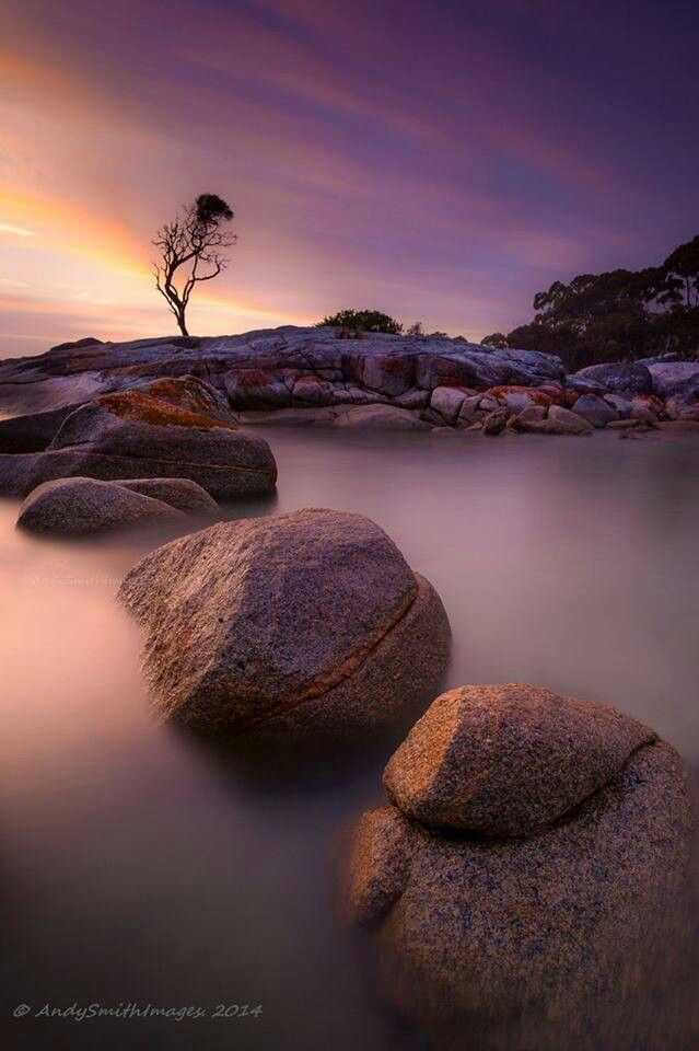 Andy Smith Images photo credit. Binnalong Bay Tasmania 2014. Amazing Tasmania