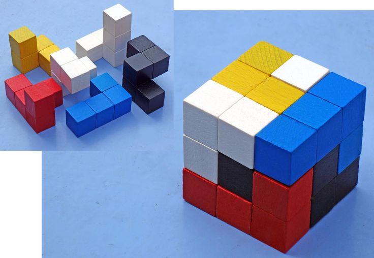 Casse Tete EN Bois Cube 5x5 CM   eBay
