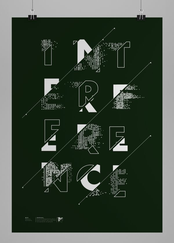 Major Project Poster series. The following posters are to communicate the message of intrusive thoughts when suffering frommental health di...