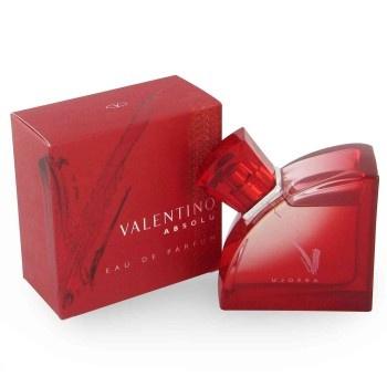 Valentino V Absolu is een damesgeur uit 2005, met een sterk houtig karakter. Geurnoten: frangipiani, heliotroop, vanille, cederhout, sandelhout, ambver, muskus, oranjebloesem en citrus