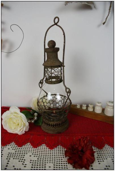 370 -10% Stylowy LAMPION LATARENKA Świecznik POMPEJE Shabby chic – Malbork – 134877363   Gumtree