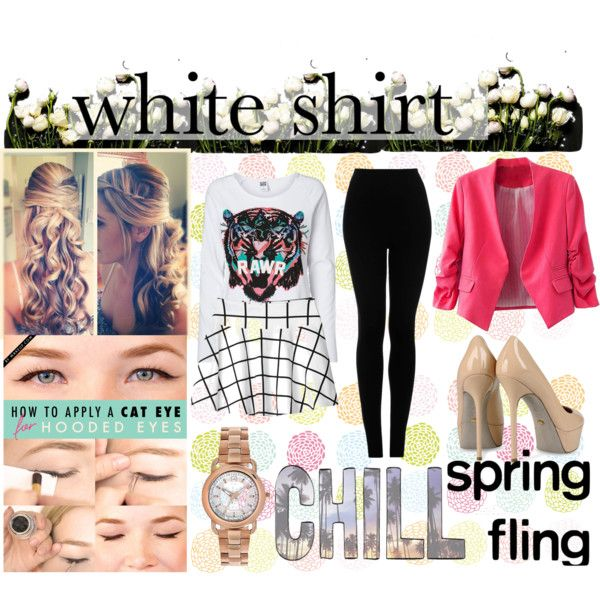 """Bring Ur Sexy White"" by hartantinora on Polyvore"