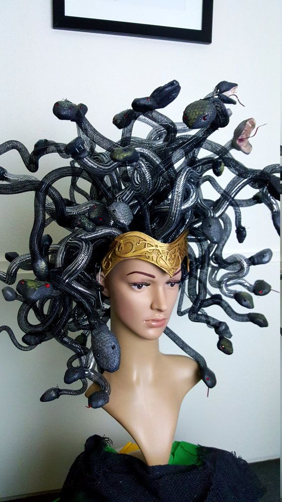 Medusa headpiece by ClothesPlay on Etsy