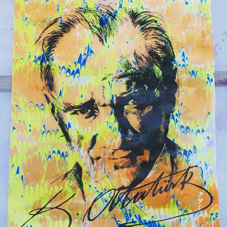Ebru Atatürk portresi
