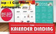I Can Print ( ICP ) Jatinegara: Kalender Dinding : Ukuran Besar