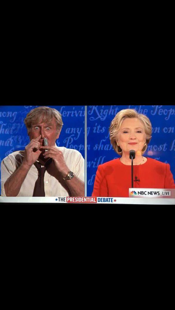 1st Presidential Debate 2016 Hillary, the clear winner!