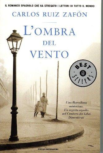 Venerdi' del libro: L'ombra del vento di Carlos Ruiz Zafon