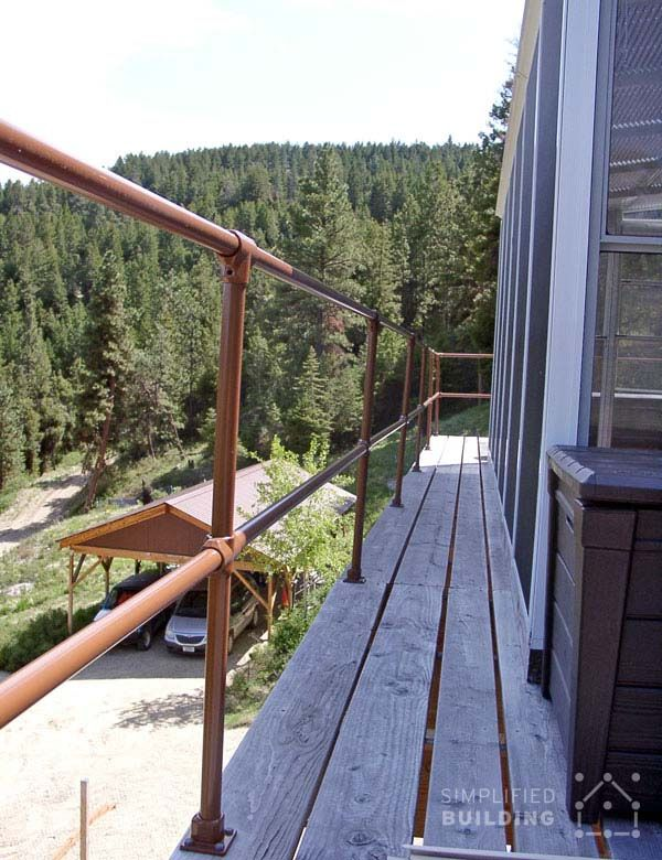 40 Best Railing Spindles And Newel Posts For Stairs: 245 Best Pipe Railing Images On Pinterest