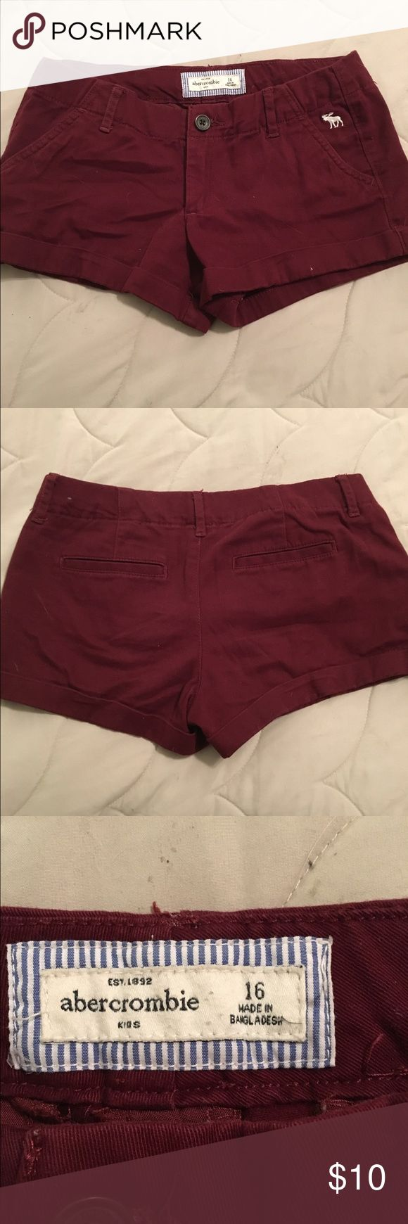 girls shorts Abercrombie girls size 16. Soft, great condition. Smoke-free home. abercrombie kids Bottoms Shorts