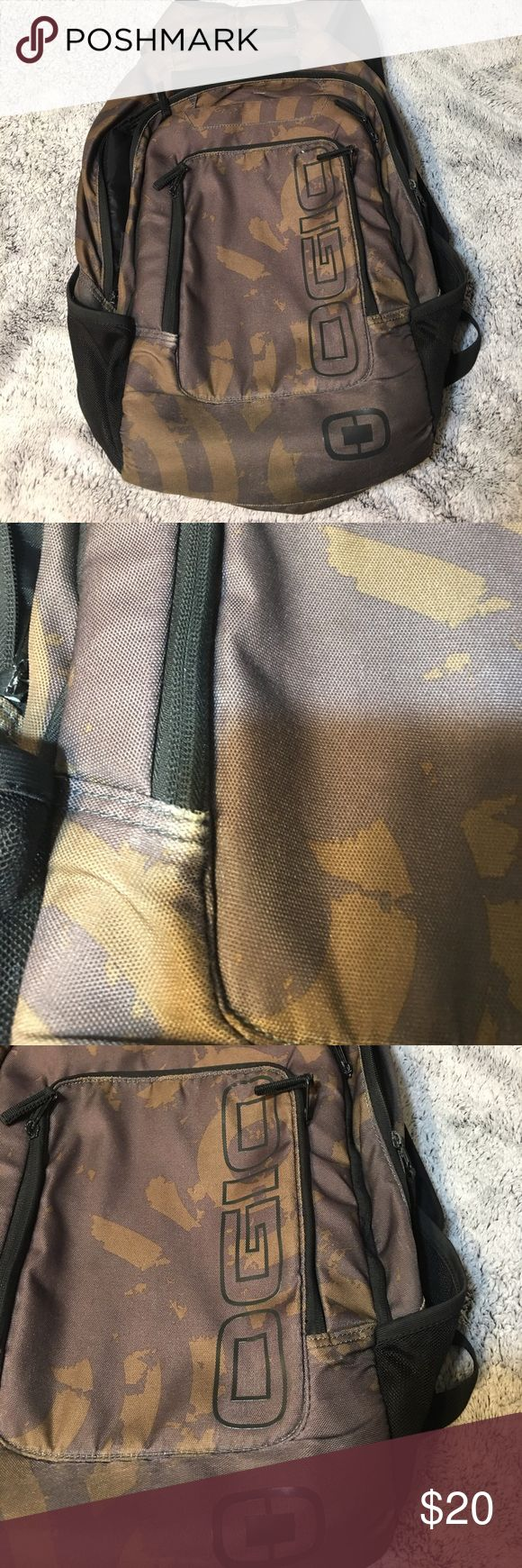 Ogio backpack Good condition other than small faded spot by zipper as pictured ogio Bags Backpacks