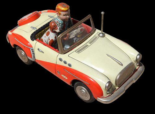 Sumbeam tin toy car Japan  www.litolatta.it/BLOG.htm