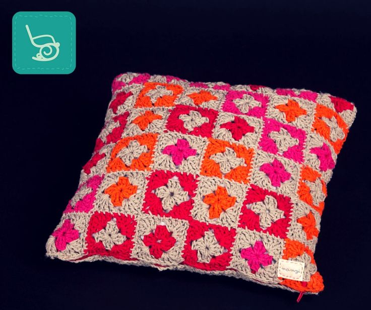 mamzi - the granny chic boutique crochet cushion  http://mamzi.bigcartel.com/