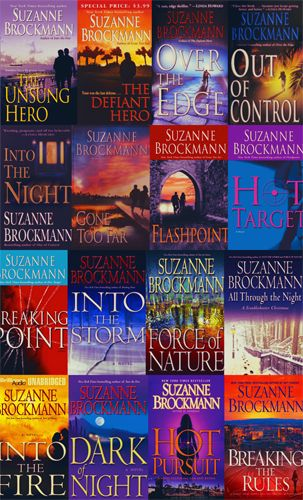 The Troubleshooters Series by Suzanne Brockmann-definitely one of my favorite series!