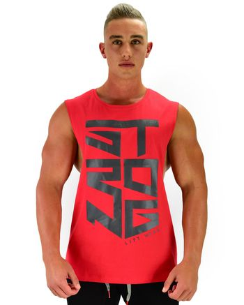 Miami Sleeveless - Strong - Red Large