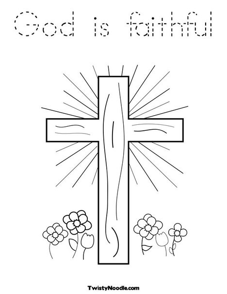 He Is Risen Alive Coloring Page