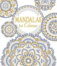 Mandalas to Colour.  There are hours of quiet contemplation to be found in colouring these beautiful circular patterns, ideal for children or adults wishing to indulge in some art therapy.