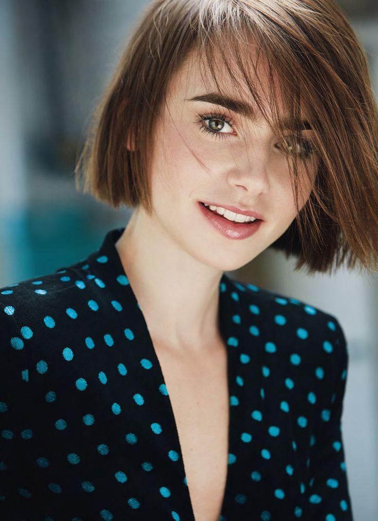 Лили Коллинз — Marie Claire UK 2014