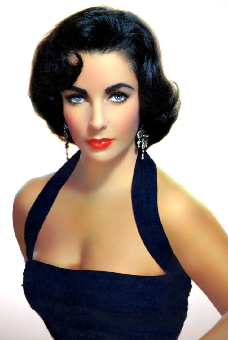 Liz Taylor ahhh her eye brows  perfection