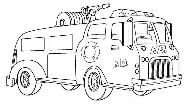 Read Morefire Truck Coloring Page For Kids Coloring Pages For