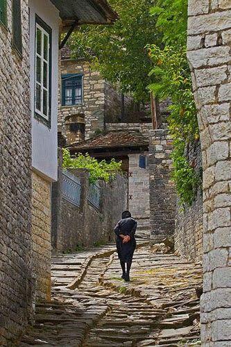 Village life in Greece
