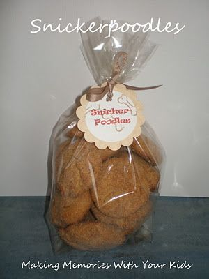 Making Memories ... One Fun Thing After Another: Snickerpoodles: Homemade Dog Treats