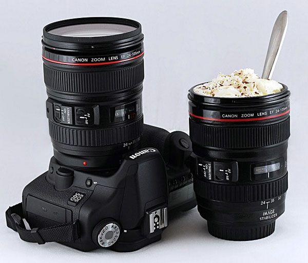 Купить кружка объектив Canon (Canon KD-M15)