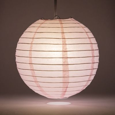 Make a splash and save with attractive Pink Round Even-Ribbing Paper Lanterns from the Paper Lantern Store.