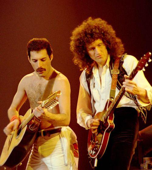 Queen: Freddie Mercury & Brian May  (my edit)