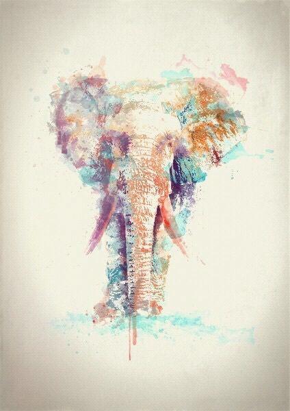 Imagen de elephant and art