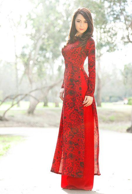 Hoa hậu Jennifer Chung duyên dáng áo dài đón Tết - VnExpress Giải Trí