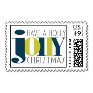 HOLLY JOLLY CHRISTMAS Postage http://www.zazzle.com/MadisynNicole?rf=238481928796519839