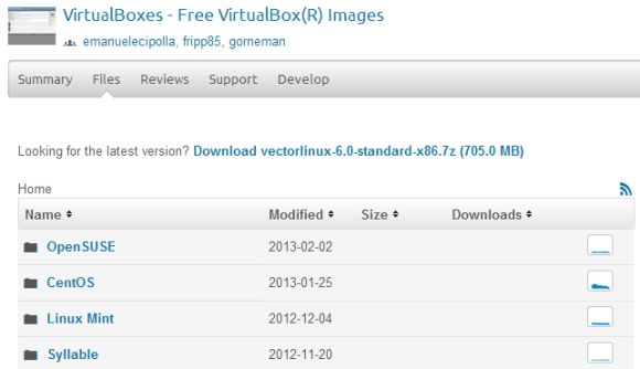 3 Websites To Download Virtual Disk Images For VirtualBox - Free
