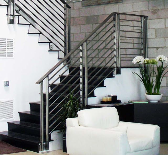 Top 70 Best Stair Railing Ideas: 25+ Best Ideas About Interior Stair Railing On Pinterest