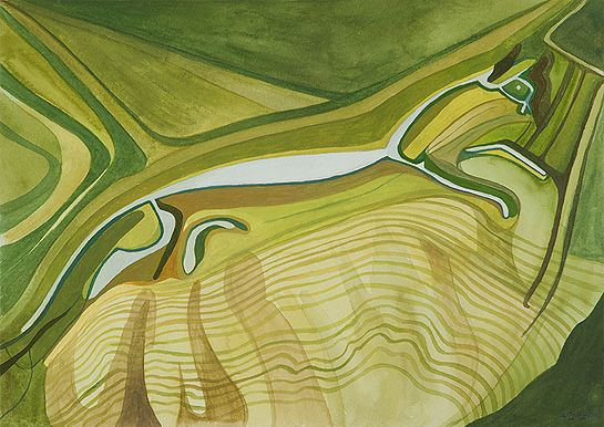 Anna Dillon.  Uffington White Horse.  Carved into the chalk downland and visible for miles, there are eight huge equine hill figures contained within the North Wessex Downs AONB. The most famous is the prehistoric Uffington White Horse near Wantage (seen here). Located high up on the Lambourn Downs, it was probably carved around 1000 BC in the late Bronze Age making it the oldest surviving hill figure in Britain. It is also the largest at 360ft (110m) from head to tail.