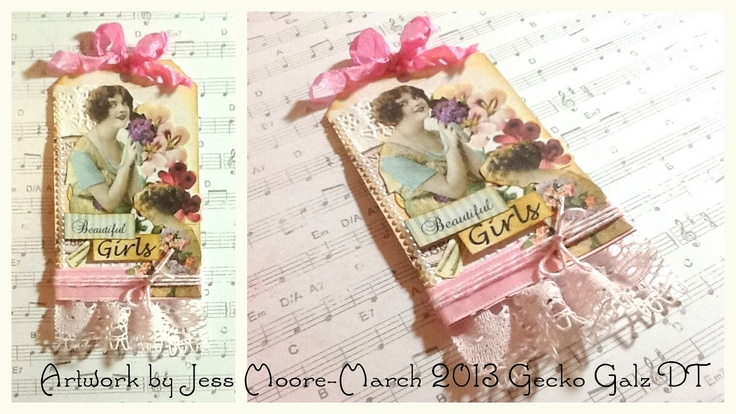 Spring Tag  by Jessica Moore  for Gecko Galz