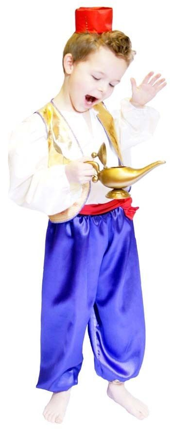ALADDIN or ARABIAN PRINCE fancy Dress costume ALL AGES