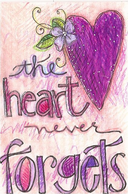 day 9 - the hearts never forgets | Flickr - Photo Sharing!