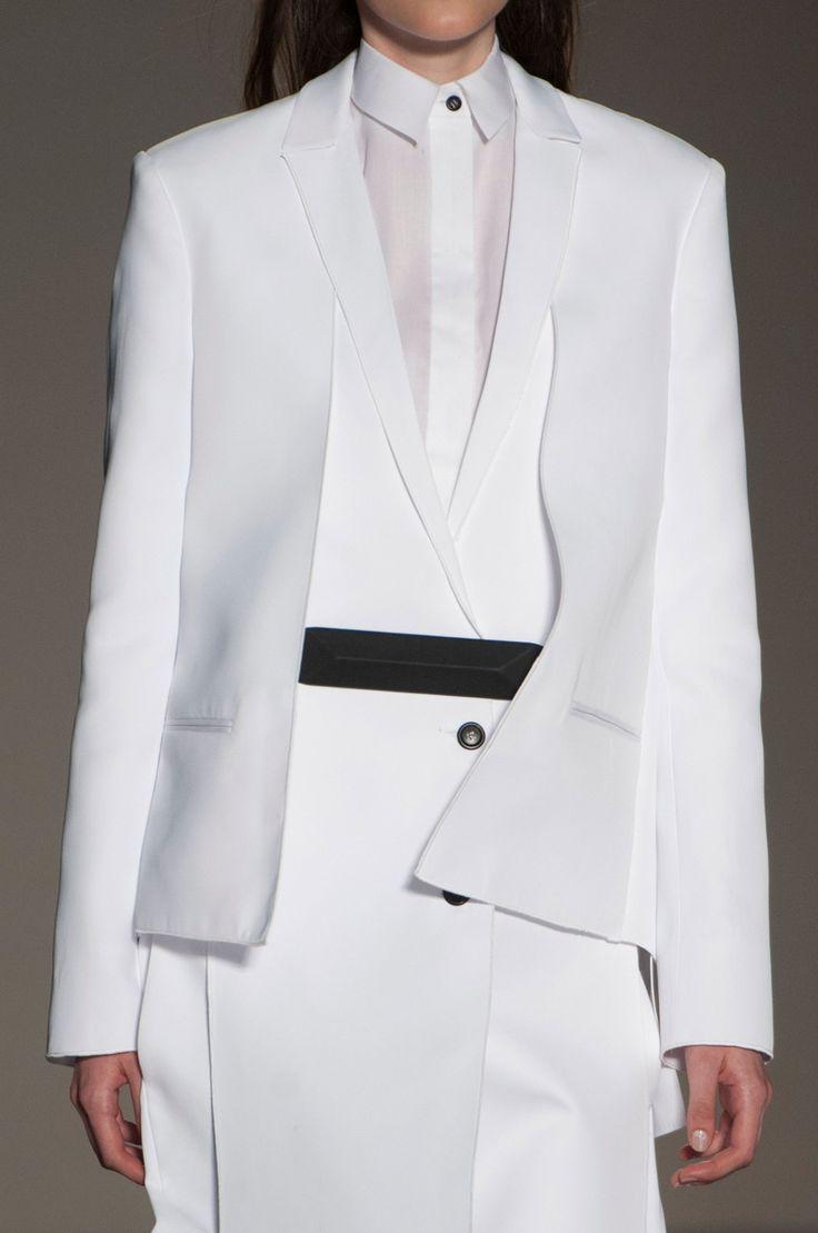 crisp white tailoring layered fashion details gabriele crisp white tailoring layered fashion details gabriele colangelo spring 15 details