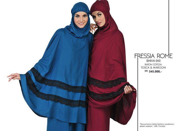 Fressia Rome - Shiva 043 Rayon Cotton  Tosca & Maroon AVAILABLE only IDR 345.000,-