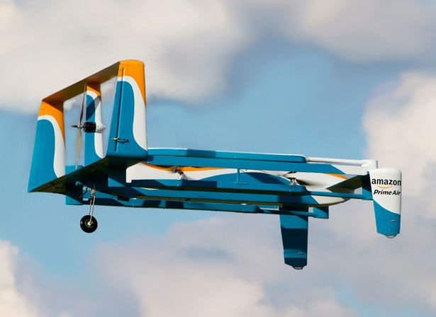 It looks like future has come early, Amazon Prime Air Drone is future delivery system that could be implemented by most merchants in not so distant future.