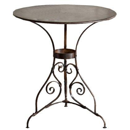 Gartentisch rund metall catlitterplus - Gartentischchen metall ...