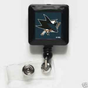 San Jose Sharks ID Badge Holder | #SanJose #California #Sharks #SanJoseSharks #Memorabilia #Sports #Merchandise #Hockey #NHL | Order Today At www.sportsnutemporium For Only $3.75